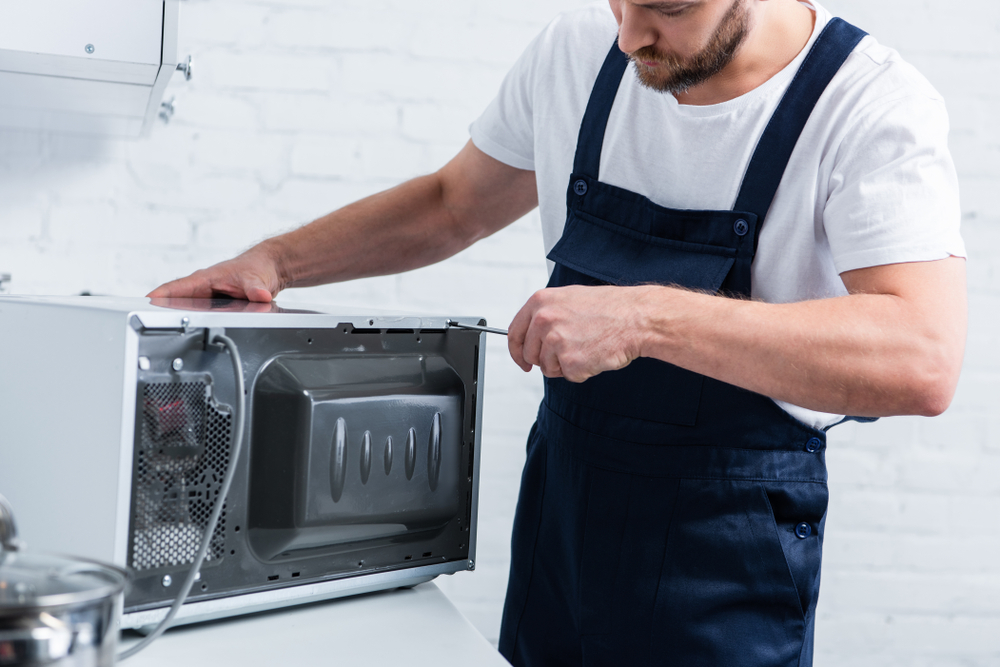 Microwave Ovens – Component Breakdown, Testing and Repair Procedures